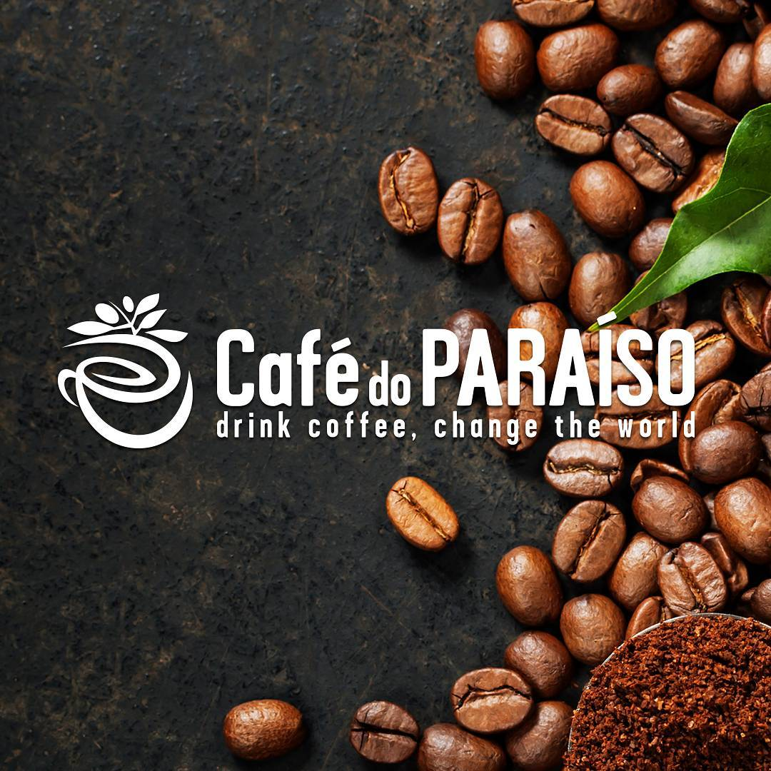 Cafe do Paraiso slogan Drink Coffee Change the World
