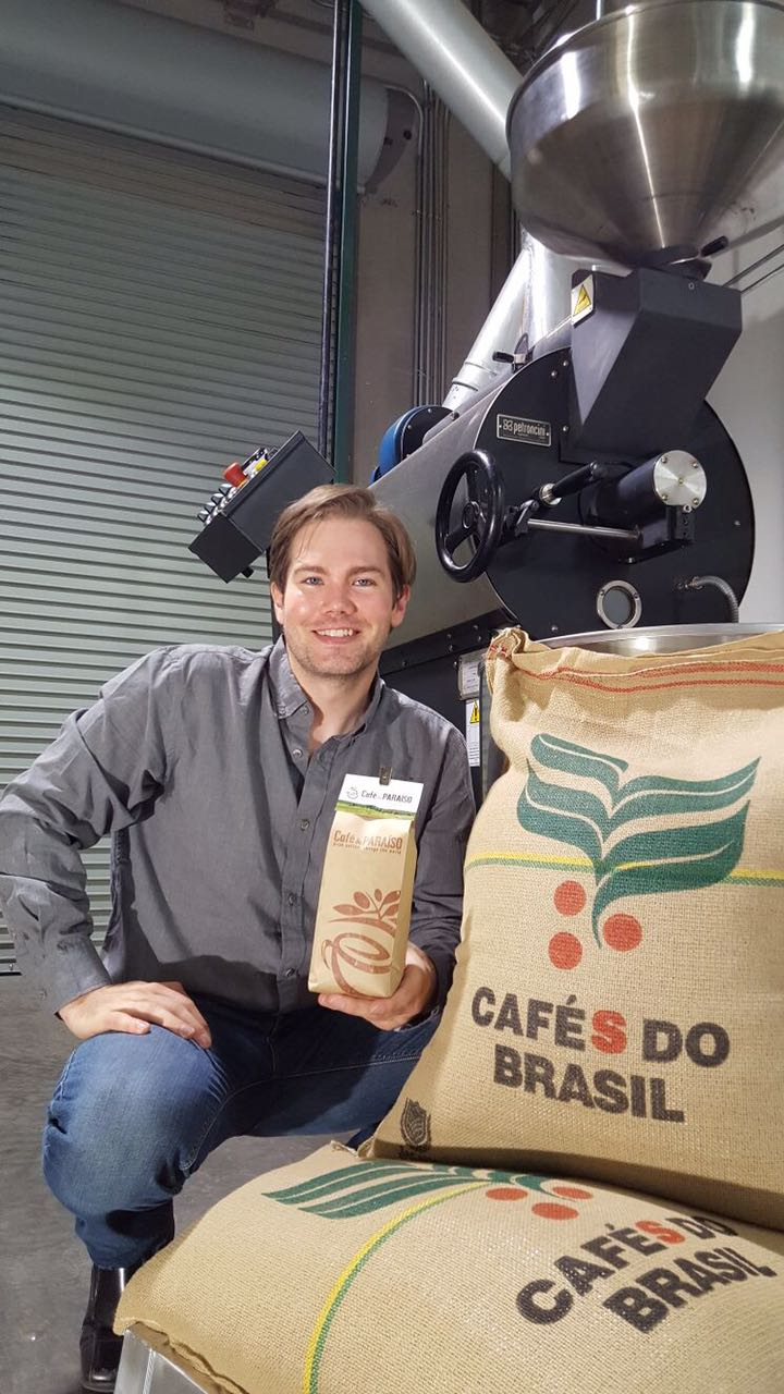 Owen Carver owner and founder of Cafe do Paraiso specialty coffee